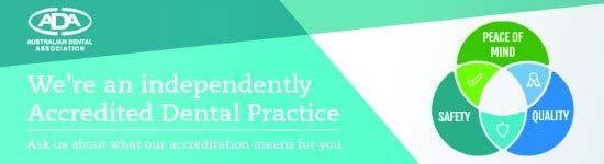 Leederville Dental is an ADA accredited dental practice