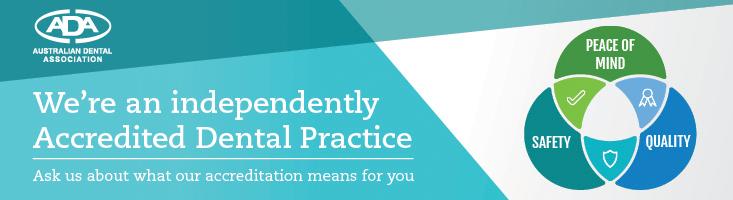 Leederville Dental is an ADA accredited dental practice.